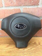 Subaru Impreza WRX Steering Wheel Air Bag 3 Spoke Black OEM