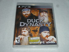 BRAND NEW FACTORY SEALED PLAYSTATION 3 PS3 GAME DUCK DYNASTY NFS ACTIVISION A&E