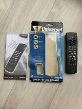 ORIGINAL PHILIPS SBC RU430/00U TV/ VCR/ SATELLITE UNIVERSAL REMOTE CONTROL