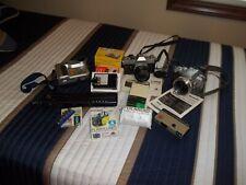 Lot of vintage camera's Kodak, Sony, Canon Panasonic & Misc.