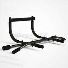 Steel Wall Mounted Pull Up Bar Chin-up Doorway Exercise Upper Home Gym Fitness