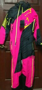 509 Allied Mono Suit Small, Pink Black