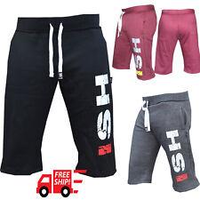 Men's Gym Shorts Jogging MMA Boxing Work out Training sweat Casual fleece short