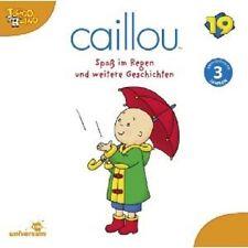 """CAILLOU """"19 SPASS IM REGEN"""" CD HÖRSPIEL NEU"""