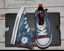 New Converse All Star Chuck Taylor Infant Baby Toddler American Flag Size 6 C
