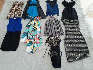womens size 6 / 8 Clothes Bulk Lot- Dresses - Jeans