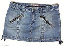vintage Guess stretch denim skirt size 31 womans zipper pocket 90s