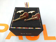 PAUL SMITH Luxury Cufflink PS Rare Enamel Classic GUITAR Cufflinks BNIB RRP£80
