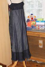 M+F GIRBAUD   Superbe robe en jeans 2 tons de  bleu T 40 FR TRES  ORIGINALE