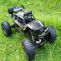 1/8 RC Car 4WD Remote Control Vehicle 2.4G Electric Monster Buggy Off-Road Black