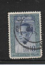 CEYLON #362  1961  PRIME MINISTER BANDARANAIKE     F-VF  USED  b