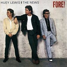HUEY LEWIS & THE NEWS - FORE! - CD