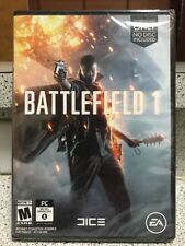 🔫Brand New!!! Battlefield 1 (PC, 2016) Factory Sealed!!! D/load Only!!!🔫