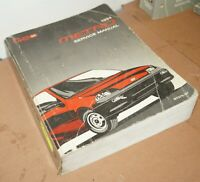 1994 Chevy Metro Factory Service Shop Manual Repair Book