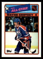 1988-89 Topps Sticker Inserts #8 Wayne Gretzky Oilers MINT (ref 20369)