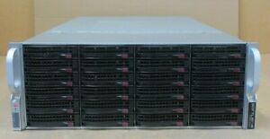 "Supermicro SuperChassis CSE-848 X9QRI-F+ 24x 3.5"" SAS Bay 4U CTO Storage Server"