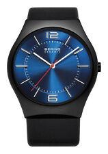 Bering Quarz-Armbanduhren (Batterie) mit Edelstahl-Gehäuse und Saphirglas