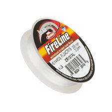 "0.005"" Fireline Braided Bead Thread Crystal 4LB - 15 Yard Mini Spool (K45/1)"