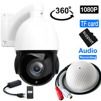 4.5'' 30X Zoom 1080P 2MP Outdoor HD PTZ IP Speed Dome Camera Outdoor Zoom P2P