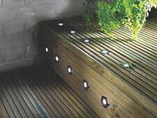 LAP Coldstrip LED Deck Light Brushed Chrome 30mm 10 Pack