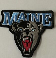 Maine black bears  Vintage Style iron on patch 3.5 X 3""