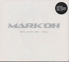 Mark 'OH Stuck ON YOU CD MAXI NUOVO DJ Cosmo Remix incl. multimediali video part