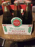 Vintage 1980s Coca-Cola Original Formula 6 1/2 Ounce Bottles Never Opened 6 Pack