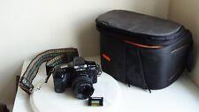 Minolta Dynax 5000i with Minolta AF Zoom 35-80mm 1:4(22)-5.6  hama bag