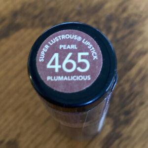 Revlon Super Lustrous Lipstick Pearl 465 Plumalicious New Sealed