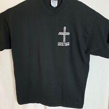 Justin Timberlake & Christina Aguilera Concert T-Shirt Local Crew 2003 Size Xl