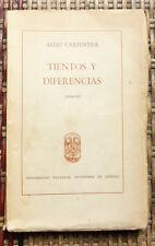 ALEJO CARPENTIER TIENTOS Y DIFERENCIAS Universidad national autonoma de MEXICO