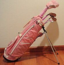 Ciscobay Pink Girls Kids Golf Clubs Junior Set 9-12 RH