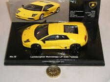 Voitures, camions et fourgons miniatures jaunes pour Lamborghini avec offre groupée