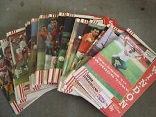 Full season of Swindon Town 1989-90 home programmes - 28 programmes in all