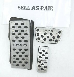 2005-2013 Lexus IS250 IS350 Brake Accelerator Foot Rest Pedal Set OEM Genuine