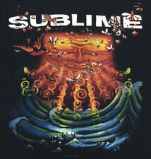 Sublime T-Shirt Girl's Juniors 2007 Sun Graphic Logo Tour Concert Rock Size L