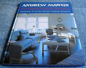 ANDREW MARTIN - INTERIOR DESIGN REVIEW - Volume 3 - 1999 - Hardcover Book
