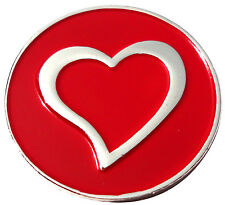 Chrome Heart Golf Ball Marker - Package of 2
