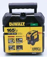 Dewalt DW0851 5 Spot Self-Leveling Horizontal Line Combination Laser - Brand New