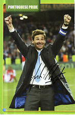 ANDRE VILLAS BOAS AS PORTO MANAGER HANDSIGNED 11.5 x 7.5 MAGAZINE PICTURE