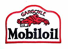 Mobiloil gargoyle patch badge Mobil gasoline motor oil service station hot rod