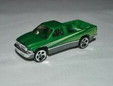 1999 HOT WHEELS  DODGE RAM 1500 GREEN LOOSE FREE SHIPPING !
