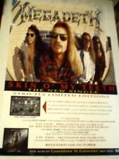 MEGADETH Skin o' My Teeth  ORIGINAL Promotional POSTER 13x20""