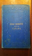 CANADA SHERIDAN HOGAN 1855 E.O. PIONNIERS PÊCHE VAISSEAUX RIVIERES LACS