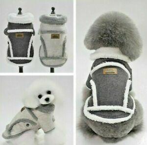 Soft Puppy Sweater Dog Clothes Cold Jumpsuit Cat Pet Warm Pet Coat Winter Jacket