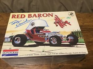 Li/'l Red Baron Tom Daniels 1972 Monogram Re-Issue Model Kit by Atlantis 181AT09