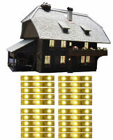 5,80€/m - 20 St LED Hausbeleuchtung warmweiß flexibel selbstklebend