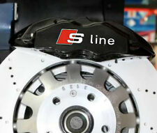 6x S-line HI TEMP Premium Brake caliper decals stickers performance A3 A4 A5 A7