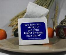 50 pcs Blank Tea Bag Outer Envelopes / Party Favors 2.85 x 3.25 Free Sample