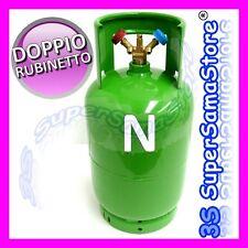 3S BOMBOLA VUOTA 12 Kg DOPPIO RUBINETTO - RECUPERO GAS REFRIGERANTE R410A R134A